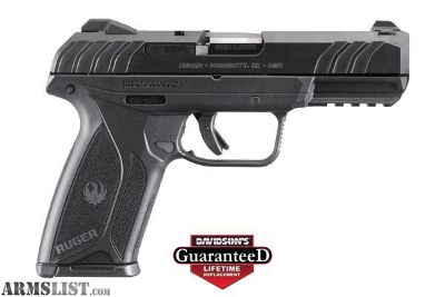 For Sale: RUGER SECURITY 9