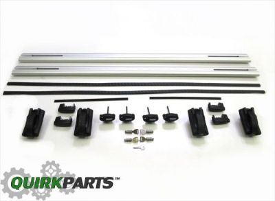 Find 2004-2009 DODGE DURANGO THULE REMOVABLE ROOF RACK CROSS RAILS OE NEW MOPAR motorcycle in Braintree, Massachusetts, United States, for US $244.23