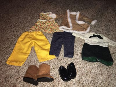 Doll clothes fits 18 inch dolls