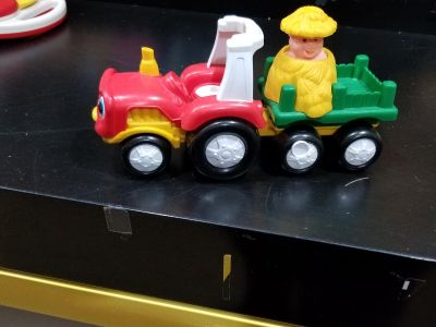 Little People Tow and Pull tractor