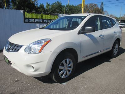 2011 Nissan Rogue S (White)