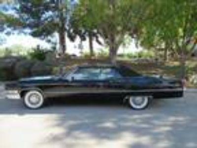 1969 Cadillac Black Deville Convertible 472 V-8