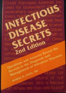 Infectious Disease Secrets 2nd Edition Textbook!