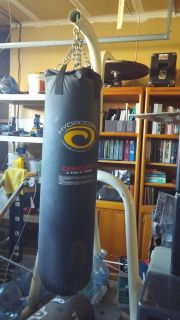 Large and small Gym Bag and stand