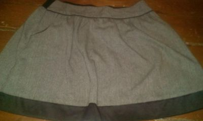 Brown maurices size large skirt