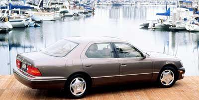 1999 Lexus LS 400 Base (Alpine Silver Metallic)