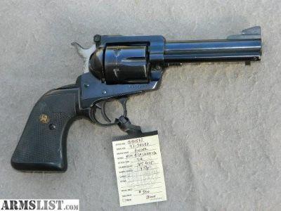 """For Sale: Ruger New Model Blackhawk, 45 Colt, 4 5/8"""", blued"""
