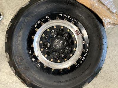 """Weld Magnum wheels Beadlock 15x10 5x4.75"""""""