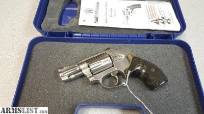 For Sale: S&W MODEL 640 PRO SERIES 357MAG NS SS EXC.