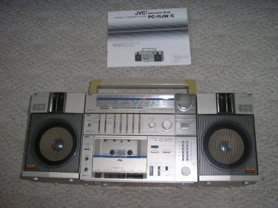 Vintage JVC AM/FM Radio/Cassette Player
