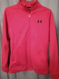 Under Armour Red Zip Up