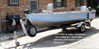 Terry 14 ft. Fishing Boat