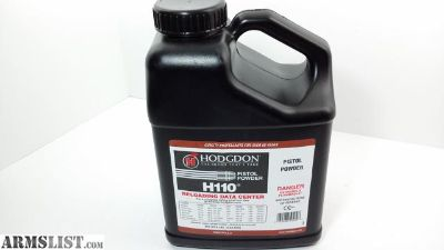For Sale: Hodgdon H110 - Smokeless Powder - 8 LBS.