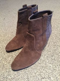 Wedge Ankle Boots-Women's 7.5