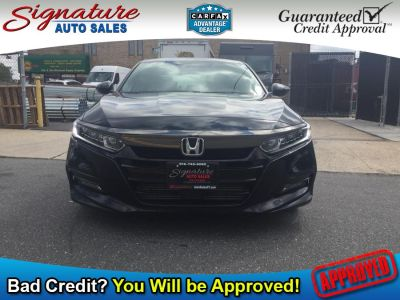 2018 Honda ACCORD SEDAN Sport CVT (Black)