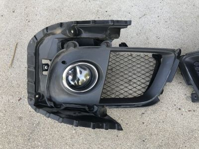 Evo x oem fog lights
