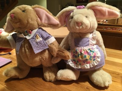 Bialosky plush Michael and Molly