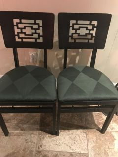 Vintage Chinese Chairs