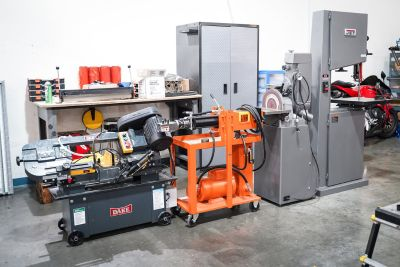 Fabrication Equipment For Sale - Bandsaws, Expander + Sander