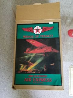 Wings of Texaco - 1929 Lockhead air express - 1st in the series
