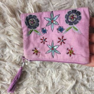 Cute beaded coin purse