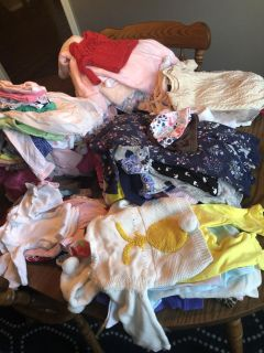 Lot of 161 Items! Baby Girl Clothes