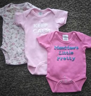 Baby Girls clothes size 0-6mo