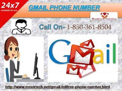 Touch Gmail Phone Number variety to witness our fine aid 1-850-361-8504