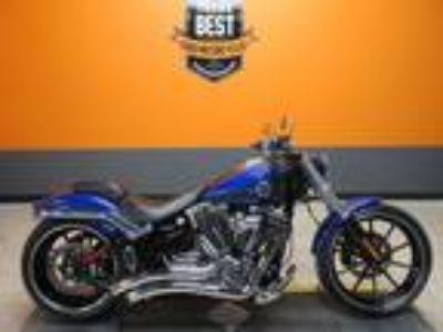 2015 HARLEY-DAVIDSON SOFTAIL BREAKOUT - FXSB - 6,908 Miles - Superior Blue Paint