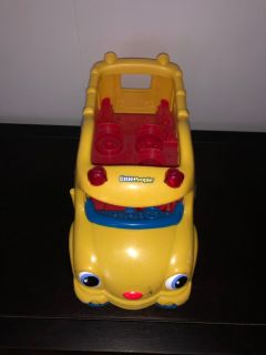 Fisher Price Little People School Bus - VGUC