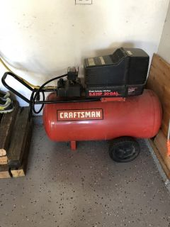 Craftsman 5.5 HP 30 gal air compressor