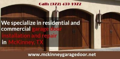 BBB A+ Rated Emergency Garage Door Repair & New Installation Service $25.95 | McKinney Dallas, 75069