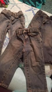 3 pair of jeans excellent condition
