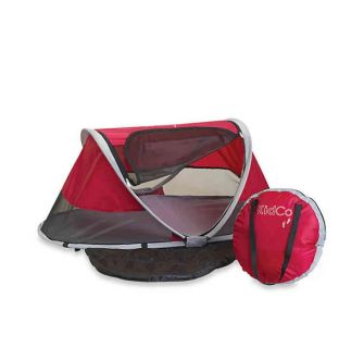 KidCo PeaPod Infant Travel Bed in Cranberry MSRP $79.00