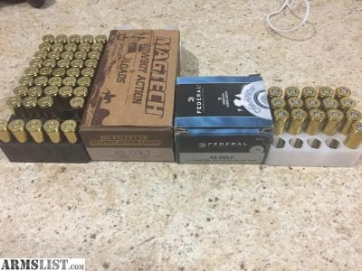 For Sale: 45 colt ammo