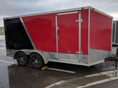2014 Stealth Trailers SBHT714TA 7X14 Enclosed Utility Trailers Rapid City, SD