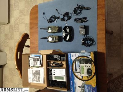 For Sale: Midland XT511 GMRS Two Way Radio with 2 GTX2000 hand held Radios