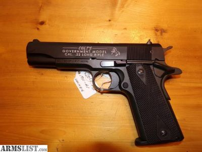 For Sale: colt 1911 22 cal.