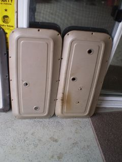 RARE 1964 1966 chevy Gmc pickup truck door panels 64 65 66 350 396
