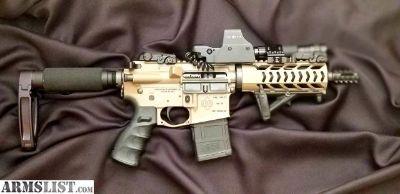 For Sale: AR-15 Pistol great truck gun