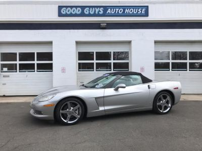 2008 Chevrolet Corvette Base (Machine Silver Metallic)
