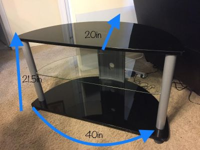 TV Stand (up to 40in TV or 240lb max weight)