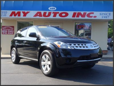 2007 Nissan Murano S (Super Black)