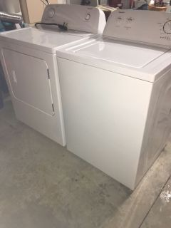 Clothes Dryer & Washing Machine