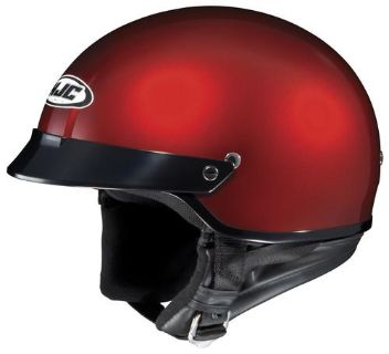 Find HJC CS-2N Wine Open-Face Motorcycle Helmet CS2N Size Small motorcycle in South Houston, Texas, US, for US $58.45