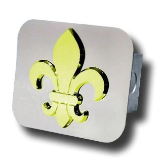 Purchase Fleur-De-Lis Gold Trailer Hitch Plug Made in USA Genuine motorcycle in San Tan Valley, Arizona, US, for US $47.84