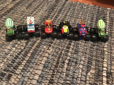 Cars movie monster truck maters