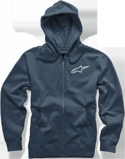Purchase Alpinestars Sturdy Hoody L Navy motorcycle in Toccoa, Georgia, United States, for US $49.00