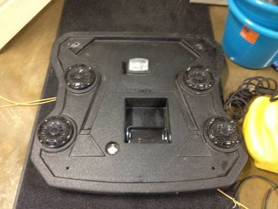 Pro Box Roof stereo for polaris rzr